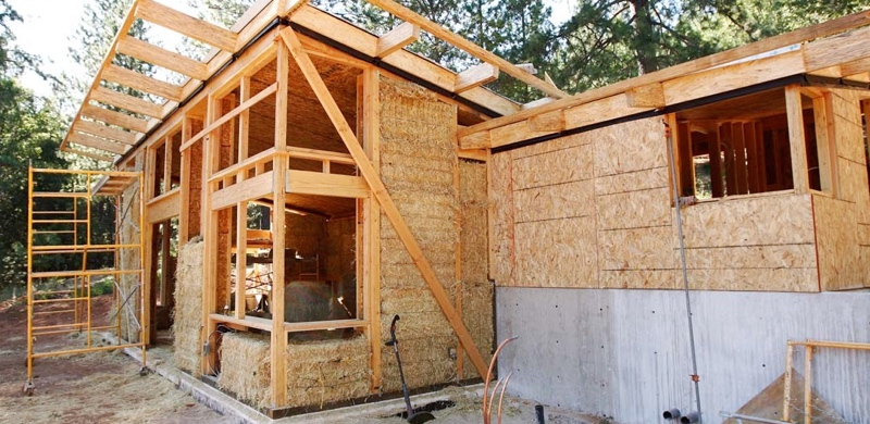 Strawbale Home Construction